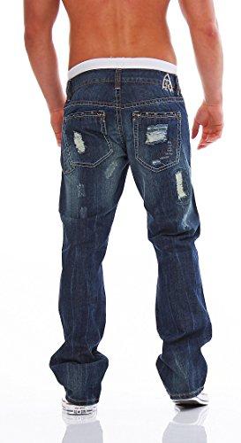 Antique Rivet Herren Jeans Hose Jeanshose billy L 32