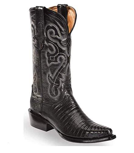 Ferrini Black Lizard Cowgirl Boots