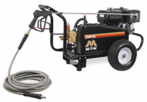 Mi-T-M CW-2505-4MGH CW Gasoline Series Cold Water Belt Drive, 389cc Honda OHV Gasoline Engine, 2500 PSI Pressure Washer by Mi-T-M