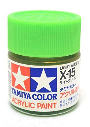 ■アクリル X-15 ライトグリーン 81015【タミヤ/TAMIYA】