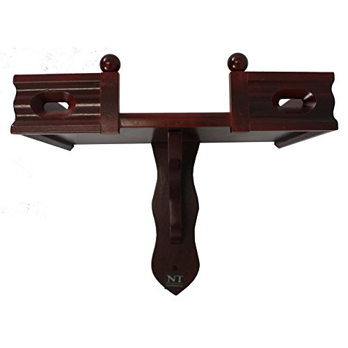 NT Furniture Buddha Altar Shelf Stand Wooden Wall Rack Ming(Cherry, 10x15 inch) by NT