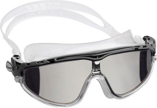 Cressi Skylight, clear-black/grey, mirrored lens