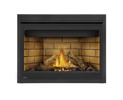 Napoleon B46 Ascent Elec. Fireplace w/Sandstone Brick Panels - NG