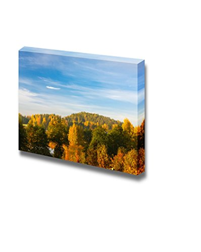 Autumn Forest Landscape Wall Decor ation