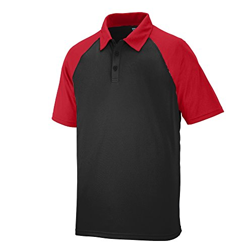Augusta Sportswear Men's Scout Sport Shirt XL Black/Red