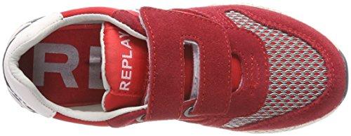 Replay Marrs Velcro, Zapatillas Para Niños Multicolor (Red Navy)