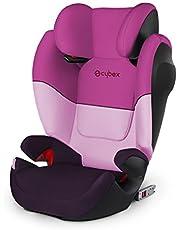 Cybex - Silla de coche grupo 2/3 Solution M-Fix SL, para coches con y sin ISOFIX, 15-36kg, desde los 3 hasta los 12 años aprox., Purple Rain
