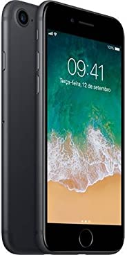 iPhone 7 32GB Preto Matte 4G Tela 4.7  Retina - Cam. 12MP + Selfie 7MP iOS 11 - Apple