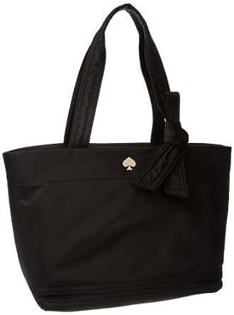 Kate Spade New York Flatiron Nylon Sophia Grace Baby Bag Diaper Bag Black One Size