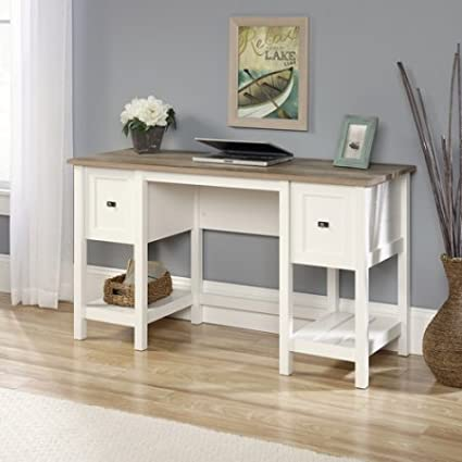 Awesome Amazon Com Elegant Work Computer Wood Desk With Two Drawers Interior Design Ideas Tzicisoteloinfo