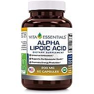 Vita Essentials Nutritional Supplements, Alpha Lipoic Acid, 200 Mg, 60 Count