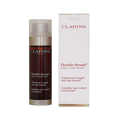 Clarins Complete Age Control Concentrate Double Serum for Unisex, 1.6 Ounce