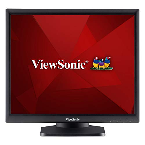 ViewSonic TD1711 17 Inch 5:4 Aspect Ratio Single Point Resistive Touch Screen Monitor HDMI VGA