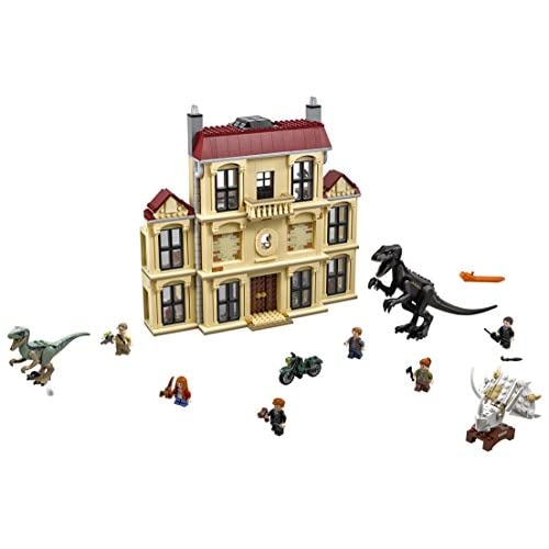 LEGO Jurassic World Indoraptor Rampage at Lockwood Estate 75930 Popular Building Kit, Best Fallen Kingdom Indoraptor Dinosaur Toy (1019 Pieces) (Discontinued by Manufacturer)