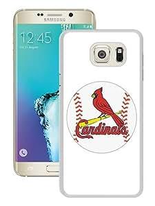Hot Sale Samsung Galaxy S6 Edge Plus Case ,Unique And Durable Designed Case With St Louis Cardinals white Samsung Galaxy S6 Edge+ Cover Phone Case