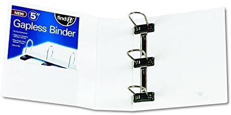 IDEFT07073 Find It Heavy Duty Gapless Binder