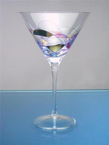- Milano Crystal 12oz Martini Glasses (Set of 4)
