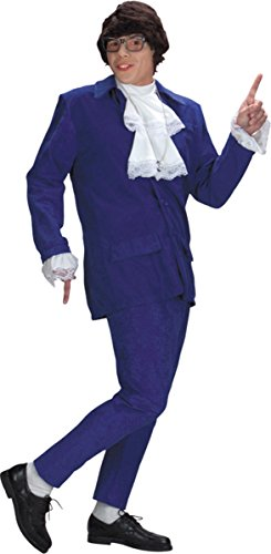 Deluxe Austin Powers Costume - X-Large - Chest Size (Austin Powers Costume Accessories)
