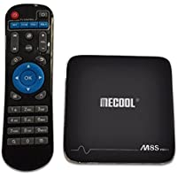 TV Box WiFi Support MECOOL M8S Pro+ Android 7.1 2.4GHz 4Kx2K Amlogic S905X 16GB Makalon