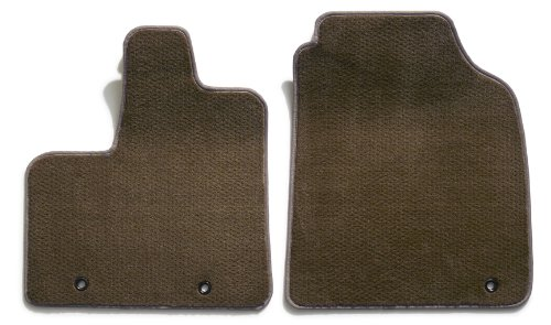 Premier Custom Fit 2-piece Front Carpet Floor Mats for Mercedes-Benz SL Series (Premium Nylon, Taupe) (Mats Front 2 Piece Auto)