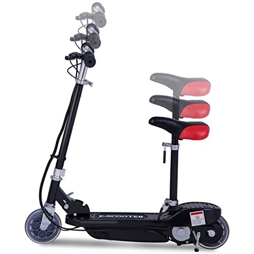Costzon folding electric scooter 120w rechargeable for Motorized scooters for teenager
