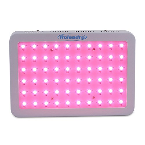 41QWmKvH%2B2L - Roleadro 300W LED Grow Light Full Spectrum, 5W Series Plant Lamp for Greenhouse Hydroponic Indoor Plants Veg and Flower