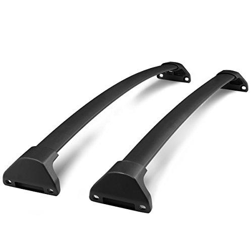 For Acura MDX OE Style Aluminum Bolt-on Top Rail Roof Rack Cross Bar Luggage Carrier