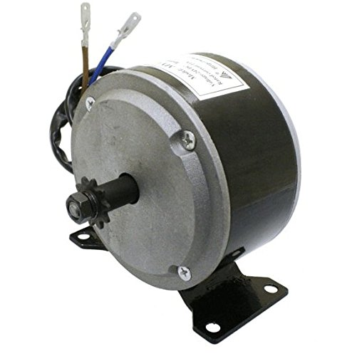Razor E200 Scooter 200 Watt Chain Drive Motor - 24 Volt 200w DC Brush Electric Motor with 10 Tooth Sprocket for Chain #25 - Factory Original Replacement Motor for Razor E200, E225, E275, RX200 ()