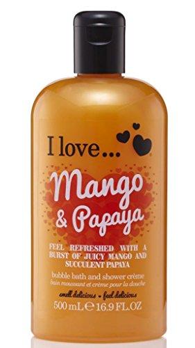 I Love... Mango & Papaya Bubble Bath And Shower Creme 500ml]()