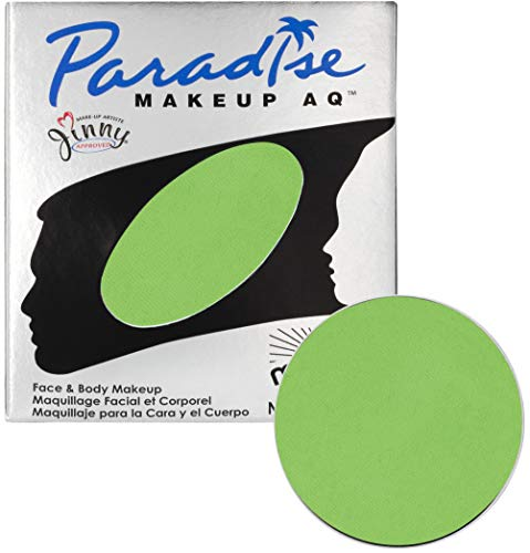 Mehron Makeup Paradise Makeup AQ Refill (.25 oz) (Light Green) ()