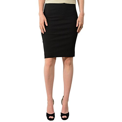Cupcakes and Cashmere Womens Bennett Skirt Black Extra Small