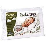 Travesseiro de Látex Capa 100% algodão Dry Fresh - Duoflex - 100% Látex - 50 x 70cm