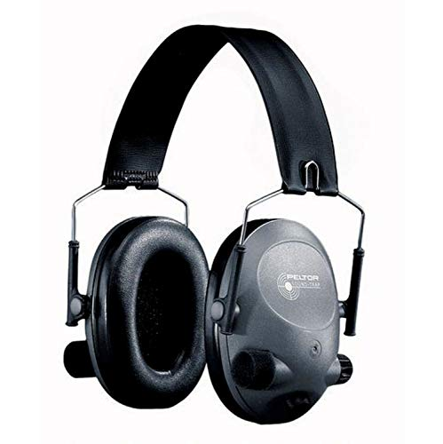 (3M Peltor Tactical 6-S Slim Line Electronic Headset, Hearing Protection, Gray, Ear Protection, NRR 19 dB, Great for hunters and shooters)