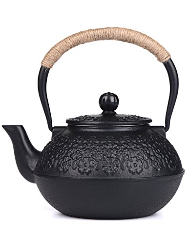 Tea kettle cast iron - Japanese teapot with infuser ...