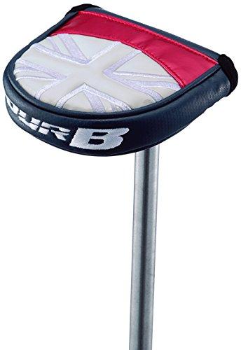 に渡って隔離のどBRIDGESTONE(ブリヂストン) ヘッドカバー TOUR B ヘッドカバー パター用マレットタイプ PCG870BTMA 対応ヘッド:マレットタイプ