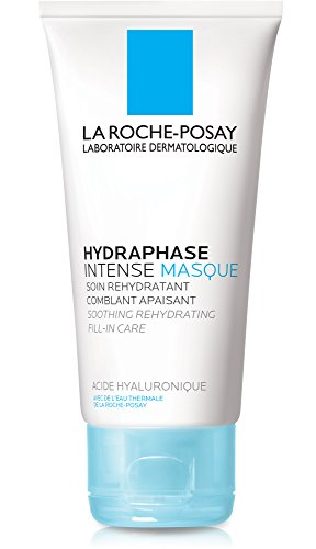 La Roche-Posay Hydraphase Intense Hydrating Face Mask with Hyaluronic Acid, 1.69 Fl. Oz. (Mask Moisture Intense)