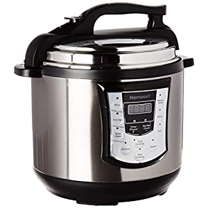 Homeart Multipot Pressure Cooker, Programmable Settings with Multifunctions, Over 6 Liter Capacity 10