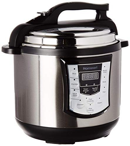 Multipot by Homeart | Best 2019 Multi Pot | Pressure Cooker Over 6QT and Programmable Settings with Multifunctions (Best Crock Pots 2019)