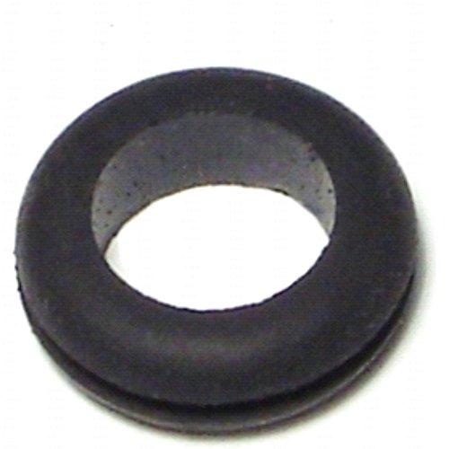 Hard-to-Find Fastener 014973176419 Grommets, Black, 1/2 x 13/16 x 1/16-Inch