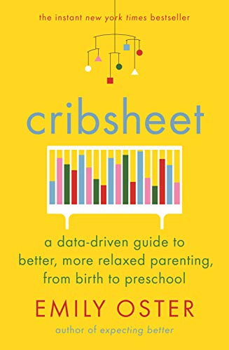 Cribsheet: A Data-Driven Guide to Better, More Relaxed Parenting, from Birth to Preschool (Healthy Sleep Habits Happy Child Marc Weissbluth)