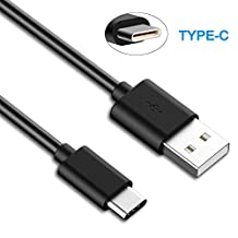USB 2.0 Type C (USB-C) to (USB-A) Cable, Hankuke 6FT/1.8M Reversible Connector Short Quick Charge Cable for New Macbook 12 inch, ChromeBook Pixel, Pixel C, Nokia N1, Nexus 6P, Nexus 5X, OnePlus 2