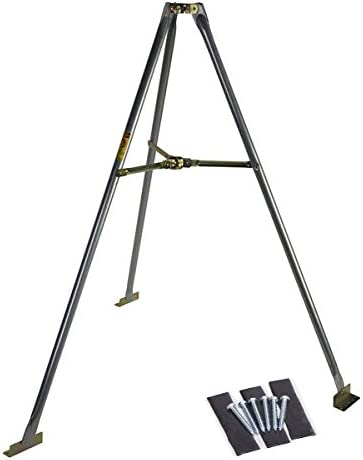 Easy Up EZ46-3 Pitch Pad Kit Includes 6 Lag Screws 3 Tar Pads for 3 Ft Tripods