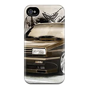 Tpu Shockproof/dirt-proof Rallye Golf Mk2 Cover Case For Iphone(4/4s)
