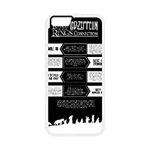 Led Zeppelin iPhone 6 4.7 Inch Cell Phone Case White xlb-279404