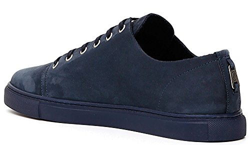 CafeNoir Sneaker Cafè Noir PH722 scrpe Uomo Allacciate in nabuk Bianco blu