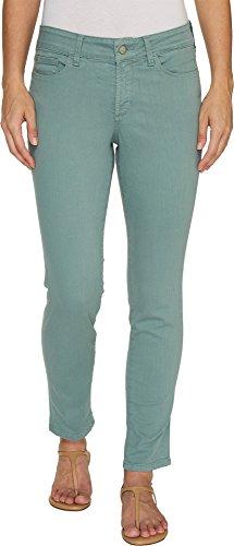 NYDJ Women's Petite Size Alina Skinny Convertible Ankle Jeans, Calypso, 14