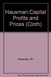 Capital Profits and Prices : An Essay in the Philosophy of Economics