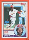 1983 Topps Ozzie Smith Baseball Card #540 - Shipped In Protective Display Case!