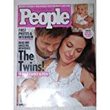 Brad Pitt & Angelina Jolie The Twins People Magazine August 18, 2008 Vivienne Marcheline and Knox Leon, Britney Spears, Teen Gymnast Goes for the Gold, Shiloh Pitt