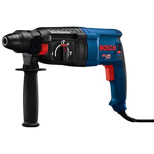 (Bosch GBH2-26-RT 8.0 Amp 1 in. SDS-Plus Bulldog Xtreme Rotary Hammer (Renewed))